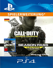 Verpackung von Call of Duty: Infinite Warfare Season Pass [PS4]