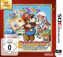 Verpackung von Paper Mario: Sticker Star Selects [3DS]