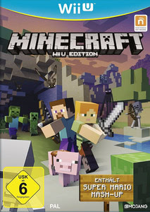 Verpackung von Minecraft Wii U Edition inkl. Super Mario Mash-Up [Wii U]