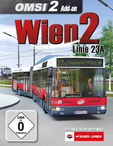 Verpackung von OMSI 2 Wien 2 Linie 23A [PC]