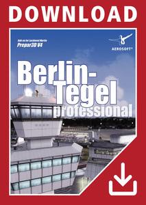 Packaging of Prepar3D V4 Berlin-Tegel professional [PC]