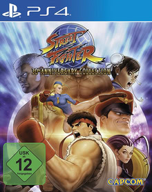 Verpackung von Street Fighter Anniversary Collection [PS4]