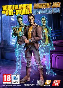 Packaging of Borderlands: The Pre-Sequel - DLC1 - Handsome Jack Doppelganger Pack [Mac]