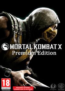Packaging of Mortal Kombat X - Premium Edition - Uncut [PC]