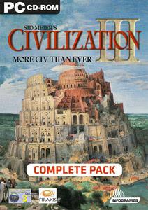 Verpackung von Sid Meier's Civilization III Complete [PC]