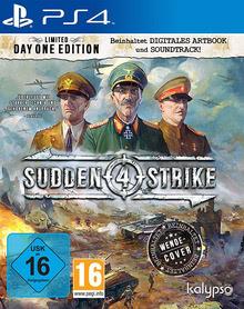 Verpackung von Sudden Strike 4 [PS4]