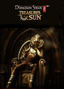 Packaging of Dungeon Siege III: Treasures of the Sun DLC [PC]