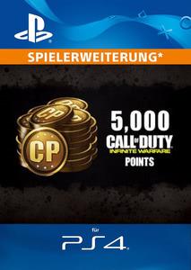 Verpackung von Call of Duty: Infinite Warfare 5000 Punkte [PS4]