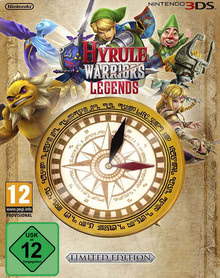 Verpackung von Hyrule Warriors Legends Limited Edition [3DS]