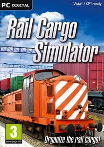 Packaging of Rail Cargo Simulator [PC]