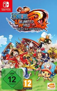 Verpackung von One Piece: Unlimited World Red Deluxe Edition [Switch]