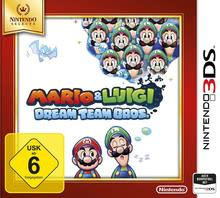 Verpackung von Mario & Luigi: Dream Team Bros. Selects [3DS]