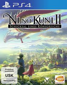 Verpackung von Ni No Kuni 2: Schicksal eines Königreichs [PS4]