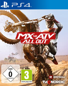 Verpackung von MX vs. ATV All Out [PS4]