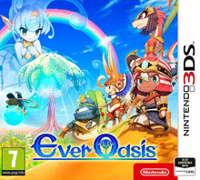 Packaging of Ever Oasis [3DS]