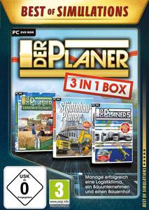 Verpackung von Der Planer: 3 in 1 Box - Best of Simulations [PC]