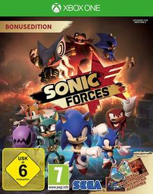 Verpackung von Sonic Forces Bonus Edition [Xbox One]