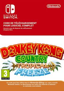 Emballage de Donkey Kong Country Tropical Freeze [Switch]