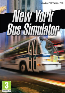 Packaging of New York Bus Simulator [PC]