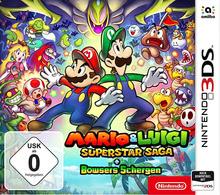 Verpackung von Mario & Luigi: Superstar Saga + Bowsers Schergen [3DS]