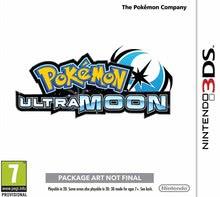 Packaging of Pokémon Ultramond [3DS]