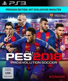Verpackung von Pro Evolution Soccer 2018 Premium Edition [PS3]