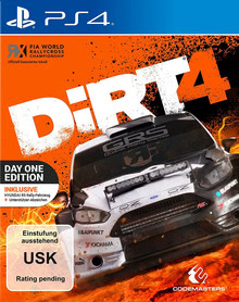 Verpackung von DiRT 4 Day One Edition [PS4]
