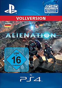 Verpackung von Alienation [PS4]
