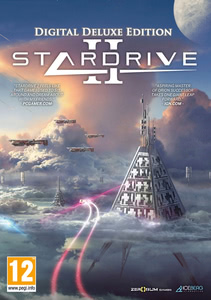 Packaging of StarDrive 2 - Digital Deluxe Edition [PC]