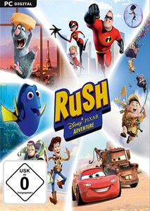 Packaging of RUSH: A Disney - Pixar Adventure [PC]
