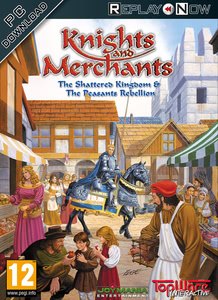 Packaging of Knights & Merchants The Peasants Rebellion [PC]