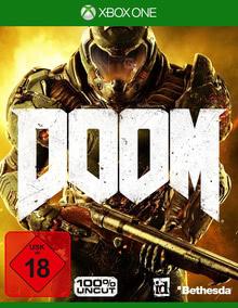 Verpackung von DOOM D1 Edition + 4 DLCs [Xbox One]