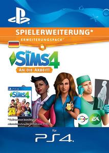 Verpackung von Sims 4 Get to Work - deutsches PSN-Konto [PS4]