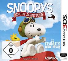 Verpackung von Snoopys Große Abenteuer [3DS]