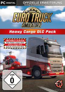 Verpackung von Euro Truck Simulator 2 Heavy Cargo Edition DLC [PC]