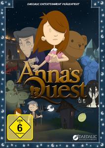 Verpackung von Anna's Quest [Mac]