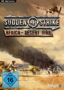 Verpackung von Sudden Strike 4 Africa Desert War [PC / Mac]