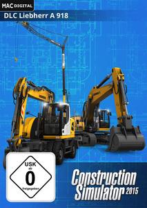 Verpackung von Bau-Simulator 2015: Liebherr A 918 [Mac]