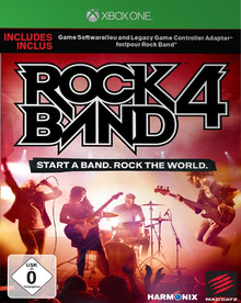Verpackung von Rock Band 4 (inkl. Adapter) [Xbox One]