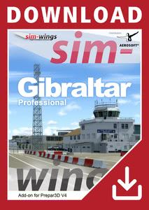 Packaging of Prepar3D V4 Gibraltar Professional [PC]