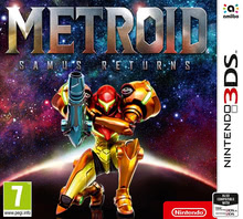 Packaging of Metroid Samus Returns [3DS]