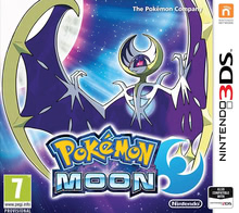 Packaging of Pokemon Moon [3DS]