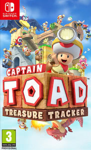 Packaging of Captain Toad Treasure Tracker [Switch]