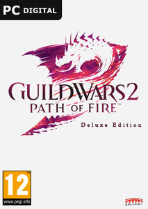 Packaging of Guild Wars 2: Path of Fire Deluxe Edition [PC]
