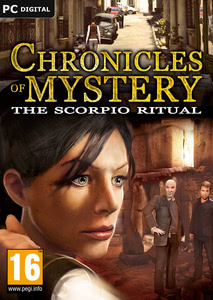 Packaging of Chronicles of Mystery: The Scorpio Ritual [PC]