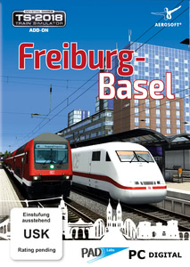 Packaging of Train Simulator 2018 Freiburg-Basel [PC]