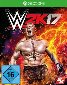 Verpackung von WWE 2K17 [Xbox One]