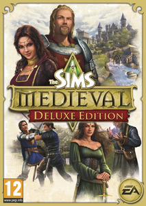 Packaging of The Sims Medieval Deluxe Pack [PC]