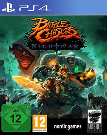 Verpackung von Battle Chasers: Nightwar [PS4]