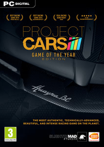 Packaging of Project Cars Game of the Year [PC]
